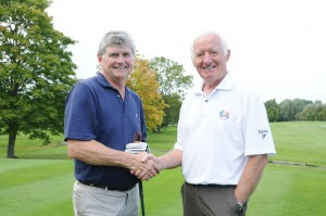 Noel Quinn is congratulated on winning Millennium Golf 2010