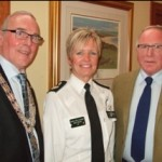 Assistant Chief Constable Judith Gillespie with former colleague George