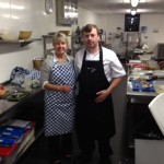 Chef Jim with Star pupil Anne