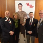 David Horsey and David Cairns from soldiers Charity